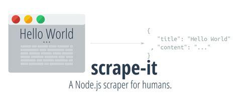 node js simple web page how to write a web scraper in node js ionică bizău