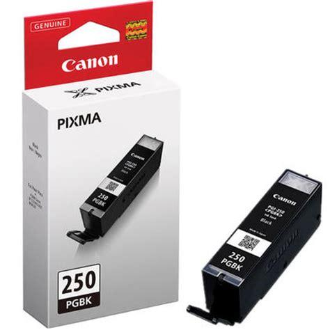 Original Canon Ink Cartridge Pgbk 725 Black canon pgi 250 pigment black original ink cartridge 6497b001 123inkcartridges canada