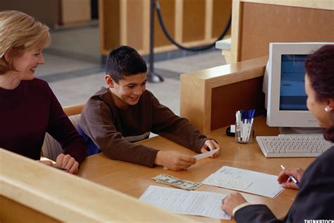 children s bank accounts never early to open your kid a bank account thestreet