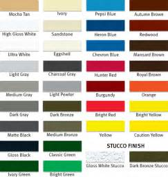 sheeting standard color shades vr peb india pvt ltd