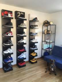 shoe rack ideas the 25 best shoe display ideas on pinterest shoe wall diy shoe storage and diy shoe rack