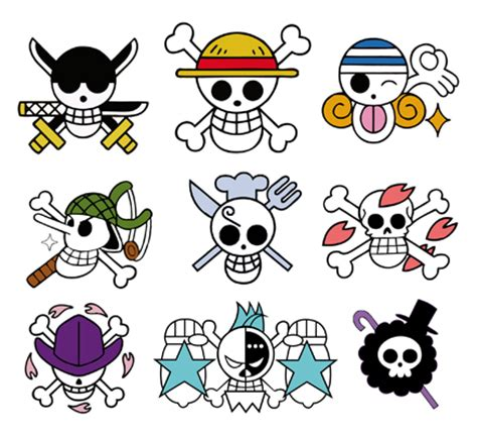 one piece tattoo calavera one piece historia de los personajes de one piece