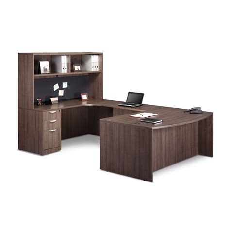 Classic Executive Desk by Classic Executive Bowfront Workstation Workplace Partners