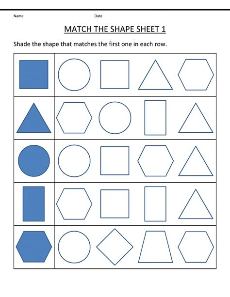 free printable preschool worksheets printable shelter