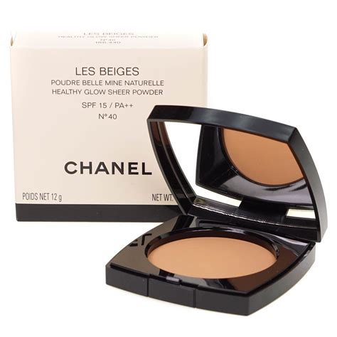 Chanel Les Beiges Compact Powder chanel les beiges healthy glow sheer powder spf15 no