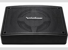 Rockford Fosgate PUNCH PS-8 Powered Subwoofer Enclosure ... Fosgate Signature