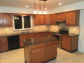 kitchen tropical brown granite countertops for kitchen