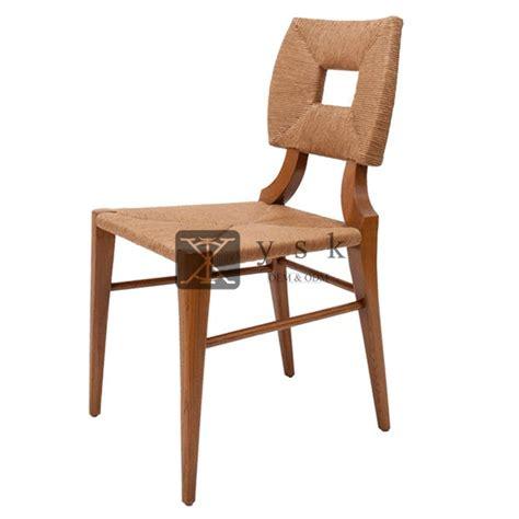 dc  tropical design chaise restaurant rattan furniture
