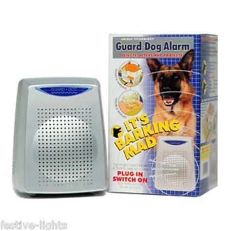 dog couch alarm barking guard dog intruder radar burglar motion detector