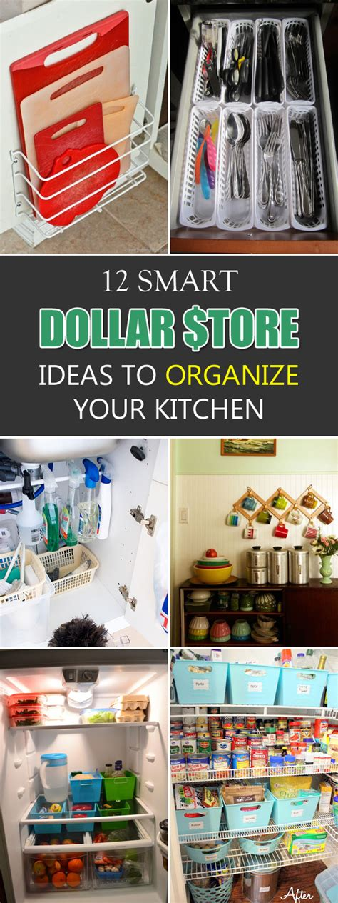 16 smart dollar store ideas to organize your kitchen new 12 smart dollar store ideas to organize your kitchen