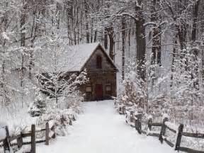cabin in the snow snow pinterest