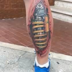 50 suspension tattoo designs for men shock absorber ideas
