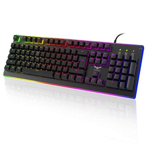 Havit Usb Keyboard Hv K72 havit hv kb380l semi mechanical gaming keyboard with rgb