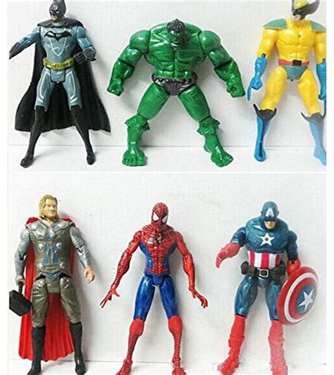 Figure Captain America Robocop Batman Set S4c neca figures