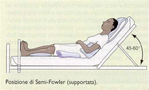 posizioni letto mobilizzazione paziente
