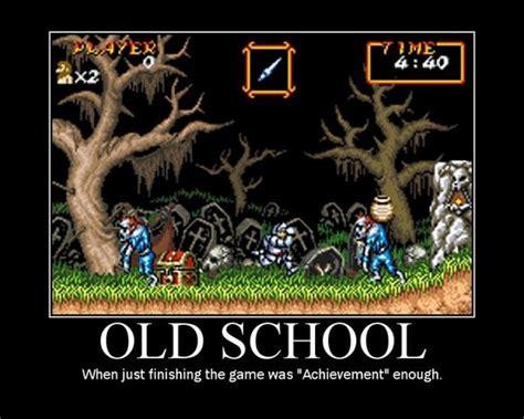 Old School Meme - gaming rocks on old school meme