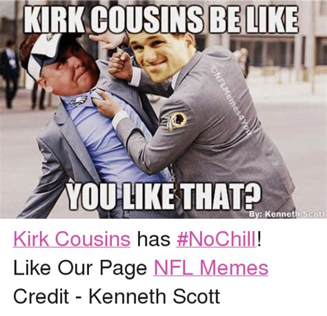 Kirk Cousins Memes - funny kirk cousins memes of 2016 on sizzle funny