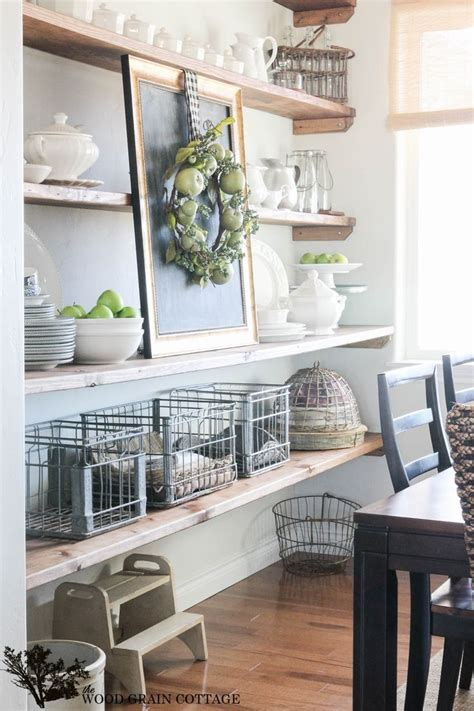 25 best ideas about dining room shelves on