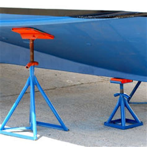 boat hull stands need help ideas on making boat stands the hull truth