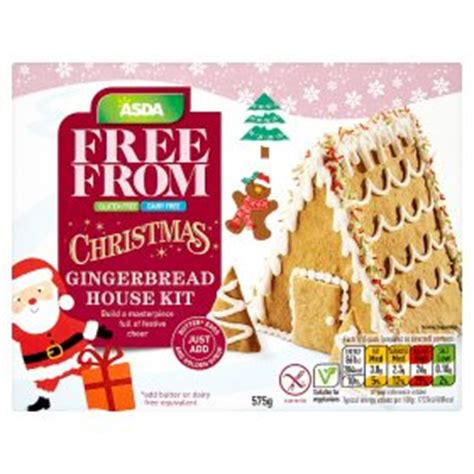 vegan gingerbread house kit asda free from christmas gingerbread house kit my vegan supermarket