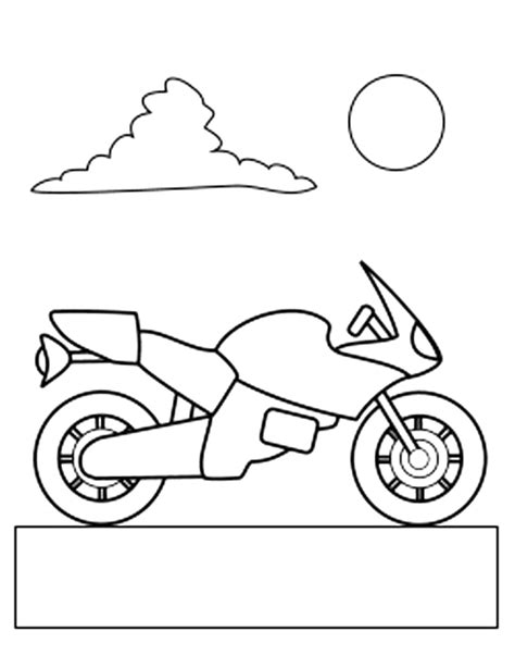 free ktm motorbike coloring pages