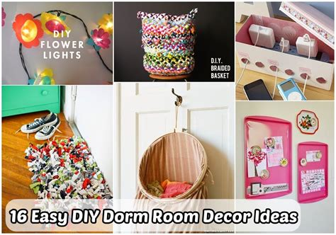 Diy Easy Room Decor by 16 Easy Diy Room Decor Ideas Diy Craft Projects