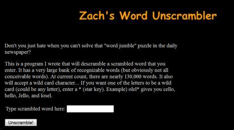 Character Letter Unscrambler word unscrambler best unscramble words tools technosamrat