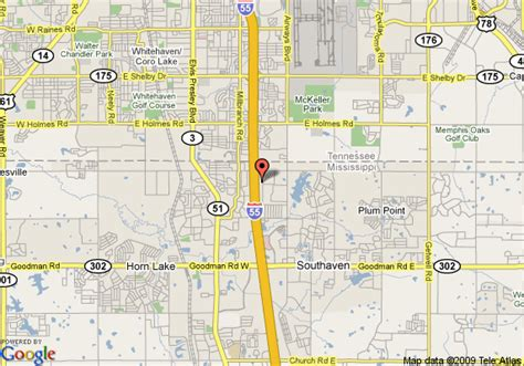 map of comfort inn southhaven southaven