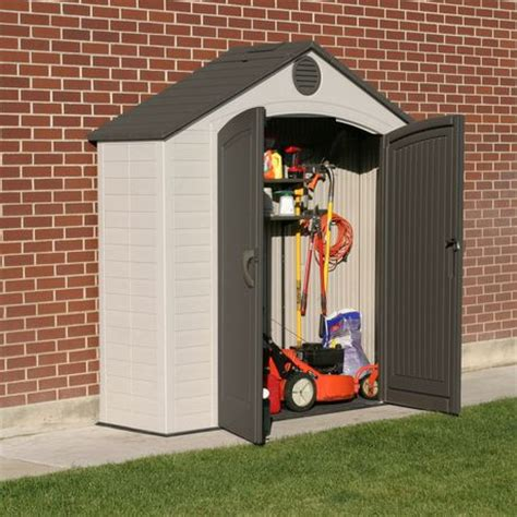 Lifetime Tool Shed by Lifetime 8 X 2 5 Ft Garden And Tool Storage Shed Walmart Ca