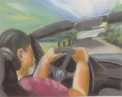 Was Kostet Es Ein Auto Anzumelden by Bild Auto Frau Landschaft Malerei Rohrbach