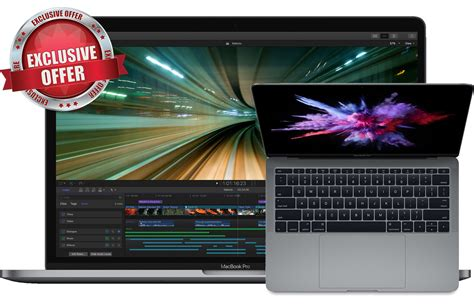 Promo Macbook Pro 2017 macbook pro deals 13 quot for 1 229 70 13
