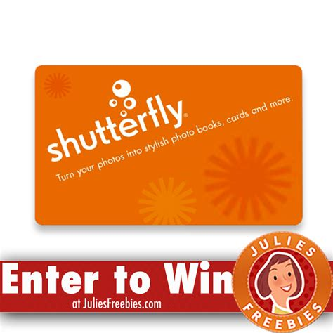 Gift Card Freebies - win a 1 000 shutterfly gift card freebies list freebies by mail free sles by