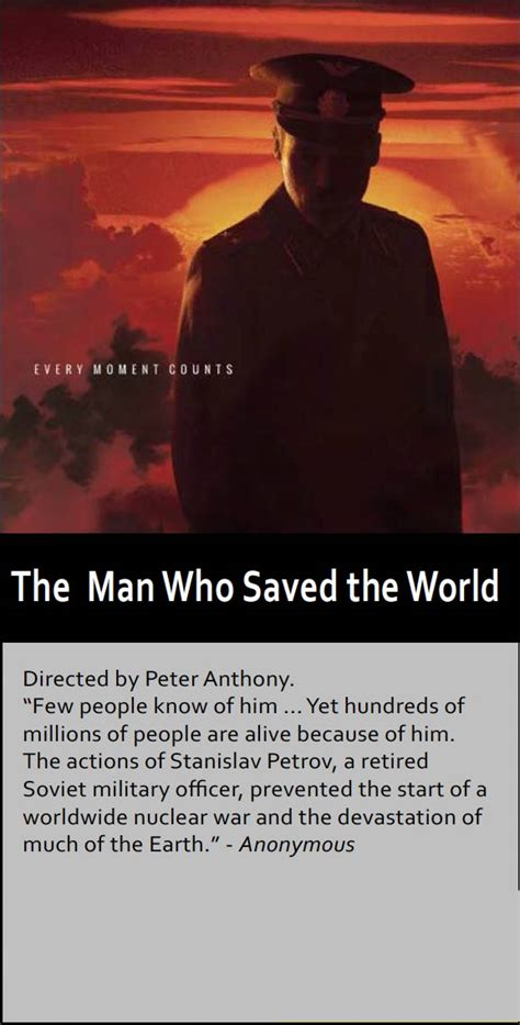 the who saved the who saved the world