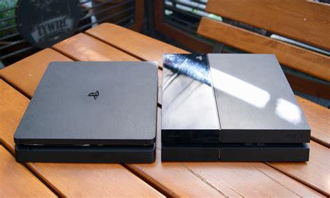 Sony Playstation 4 Slim ps4 slim kontra stare ps4 wielkie por 243 wnanie konsol