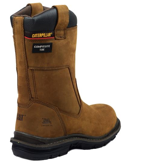 Caterpillar Boot Safety Termurah 4 caterpillar olton mens safety pull on rigger boots composite toe midsole ebay