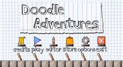 doodle adventure create and levels in doodle adventures android