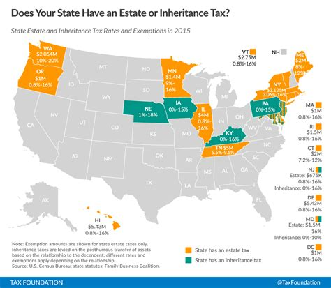 what is washington state sales tax does your state have an estate or inheritance tax tax