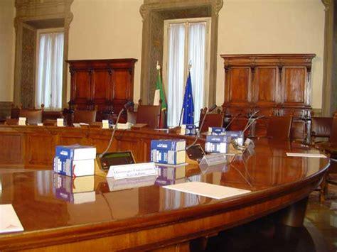 consigli dei ministri la sala consiglio dei ministri www governo it