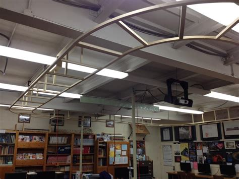 suspended ceiling classroom layout o railroading