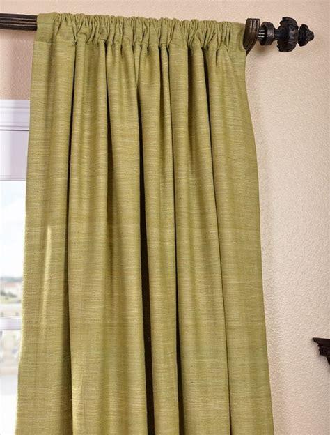 Raw Silk Curtains Furniture Ideas Deltaangelgroup