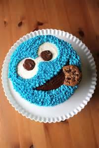 pics photos cookie monster cake