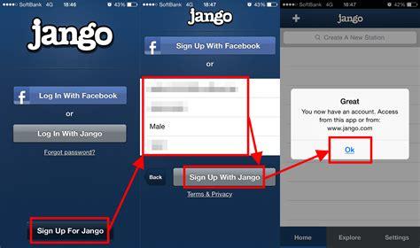 jango radio mobile i tried using the application quot jango radio mobile quot to