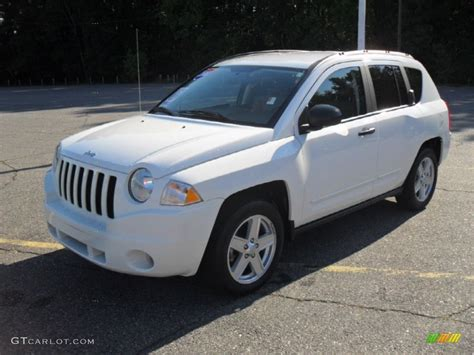 White Jeep Compass 2008 White Jeep Compass Sport 54738848 Photo 7