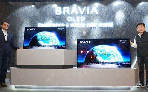 Colour Oled From Sony by Sony Launches Bravia Oled A1 Flagship Television Series In