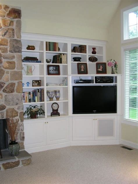 built in corner tv cabinet by tony o household pinterest
