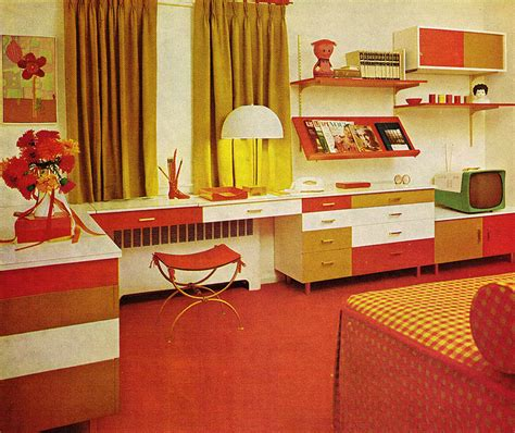 vintage 60s home decor atompunk interior design aka 70s shagadelicness baby