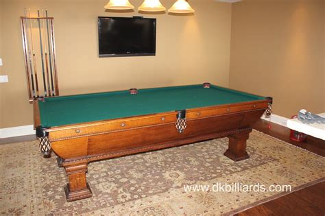 disassembling a four piece slate billiard table pool
