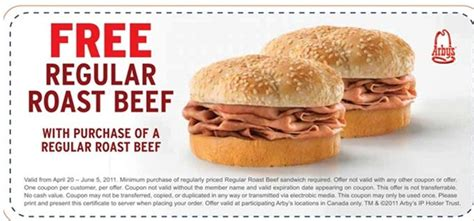 Arbys Coupon Codes Free   Coupon Codes Blog