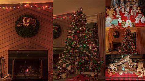 christmas decorated homes inside christmas senior moments