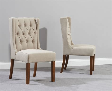 beige dining chairs uk stefini wood beige dining chairs pairs 200006 163